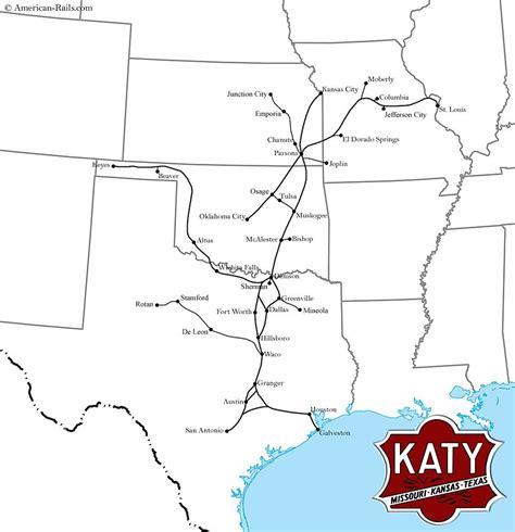 missouri pacific railroad map the missouri kansas railroad was a southern midwest