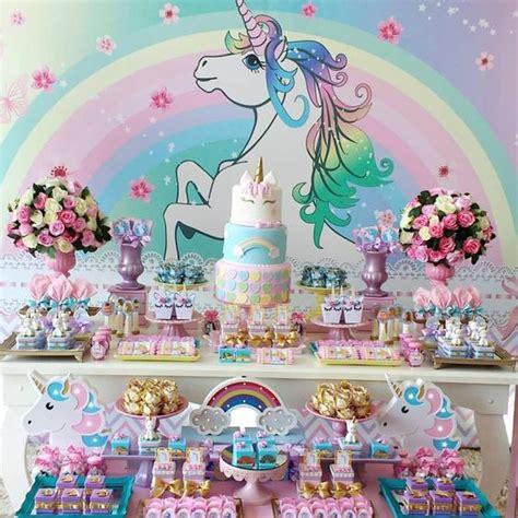 como decorar fiesta de unicornio fiesta unicornios 4 organiza tu fiesta