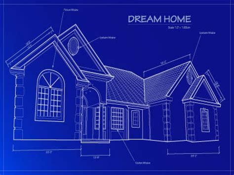 Blueprint For Houses | residential home blueprint residential metal building