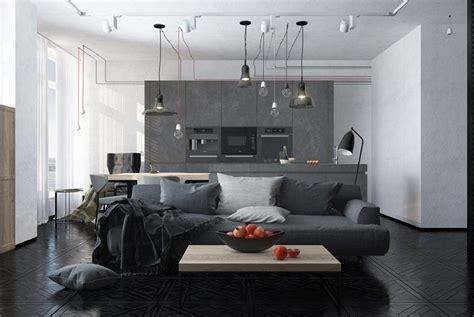 arredamento interni moderno arredamento grigio moderno e metropolitano