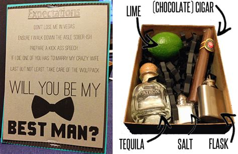 how to ask to be my bridesmaid and groomsmen will you gifts
