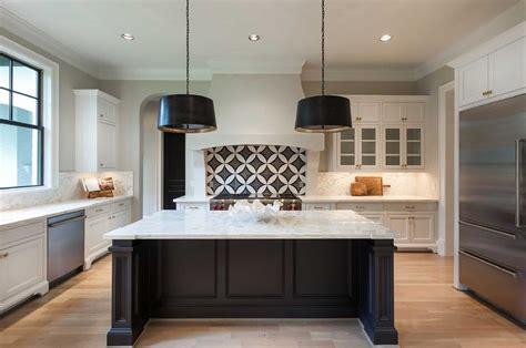 white kitchen with black island white kitchen cabinets with black island within white