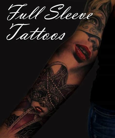full sleeve tattoo designs full tattoo