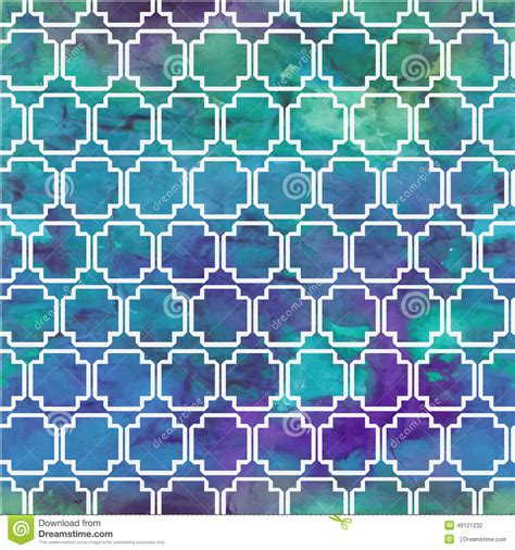 watercolor geometric pattern vector pattern with watercolor geometric patterns stock