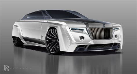 future rolls royce in the year 2050 the rolls royce phantom could look like