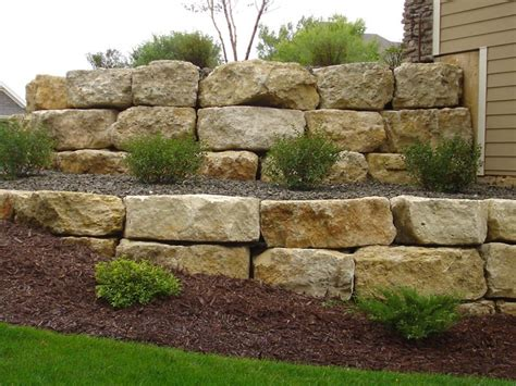 Rock Landscaping Ideas For Stunning Outdoor Areas Rock Wall Garden Ideas