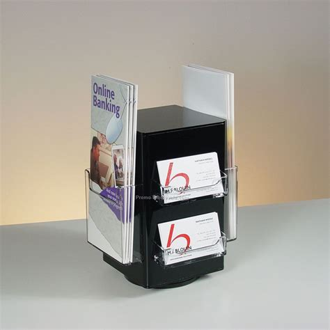Brochure And Business Card Holder