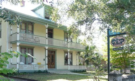 st augustine bed and breakfast 63 orange street st augustine fl