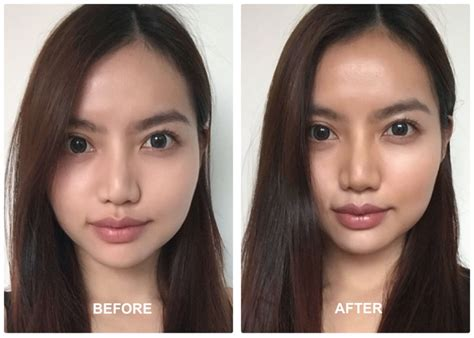 contour light sculpting before and after how to contour and highlight like a goddess sg