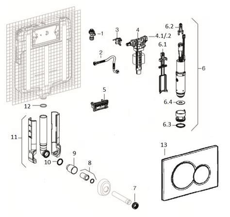 manutenzione cassetta geberit rintracciare i ricambi di una cassetta ad incasso geberit