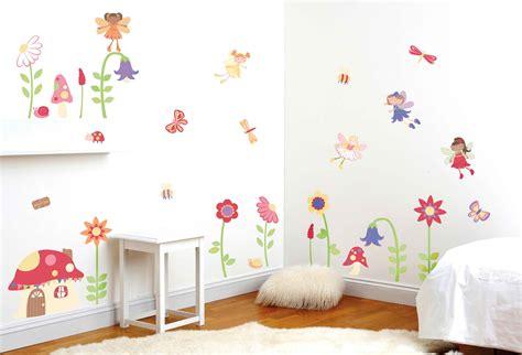 Kinderzimmer Aufkleber by Funtosee Wandtattoo Zaubergarten Elfen Wandsticker Deko Set