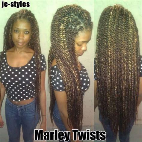 extra long marley braiding hair waist length marley twists je styles pinterest