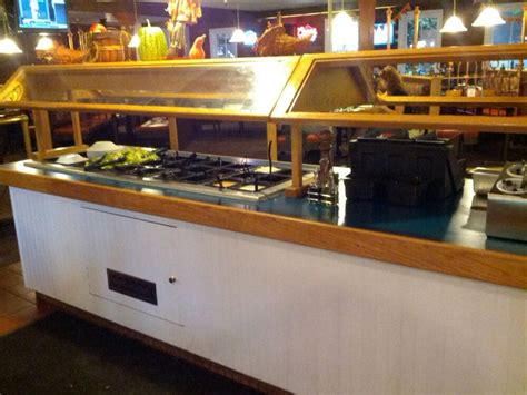 Table Pizza Bar by Salad Bar Used To Cherry Tomatoes But You Now Get