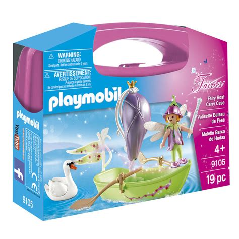 playmobil fairy boat carry case playmobil fairies fairy boat carry case