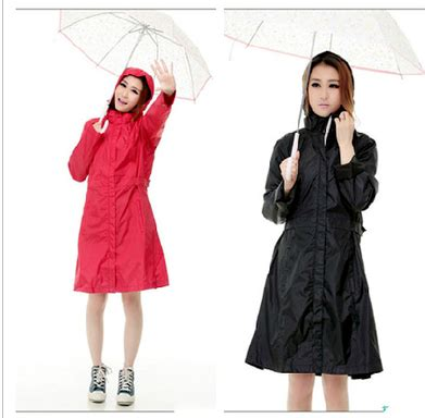 Jas Hujan Poncho Wide Outdoor aliexpress buy european style womens raincoats burbe rry trench black outdoor