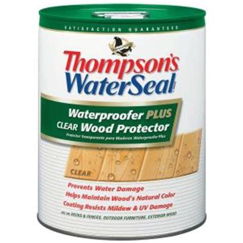 thompsons waterseal  gal waterproofer  clear wood