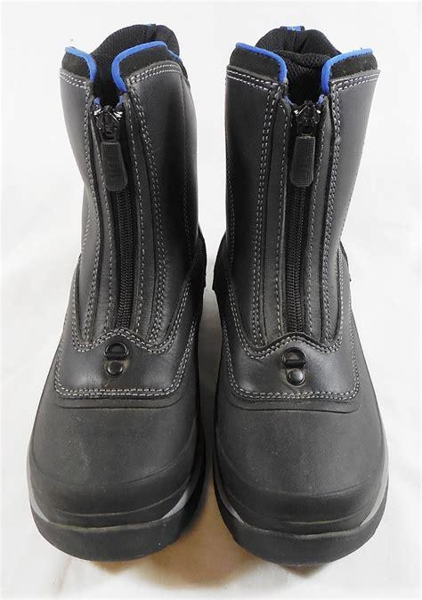 lands end snow hiking waterproof boots sz 7