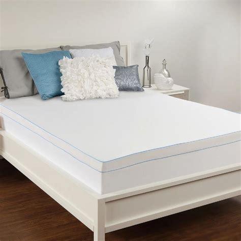 xl memory foam mattress topper sealy 3 in xl memory foam mattress topper f02 00050 tx0 the home depot