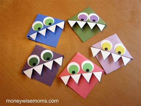 easy crafts for children and easy crafts for to give moneywise
