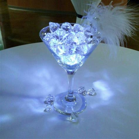 cocktail table centerpiece wedding