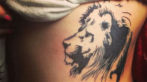 animal tattoo meaning strength the king of the animals and the symbol of strength and
