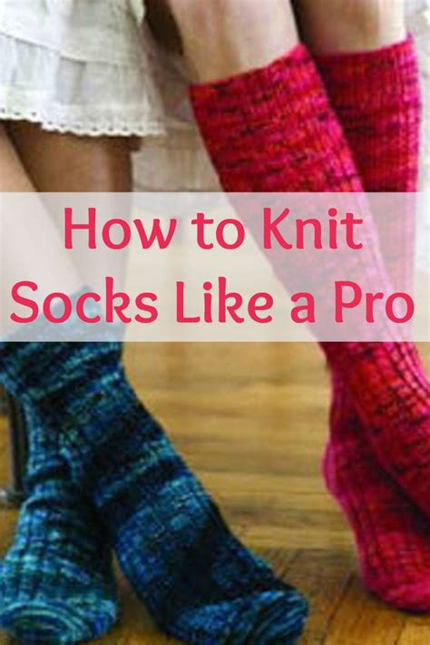 how to knit socks for beginners the 25 best how to knit socks ideas on
