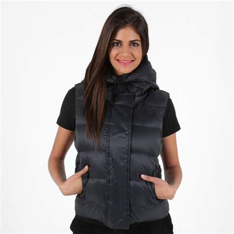 chalecos de moda 2016 nike chaleco negro mujer invierno 2016 moda deportiva