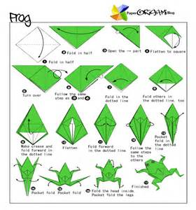 Origami How To Make A - how to make an origami frog 2016