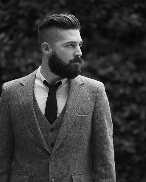gentlemens haircut styles 2015 choosing the perfect hairstyle and beard combination