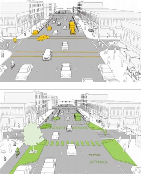 design guidelines new york a before and after guide to safer streets citylab