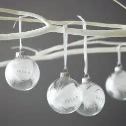 plain baubles to decorate november 2014 the fork