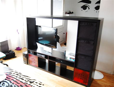 Expedit Tv Shelf by Materials Expedit Tv Storing Unit 2 Rotating Casters