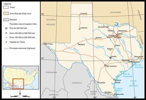 map de texas geograf 237 a de texas wikiwand