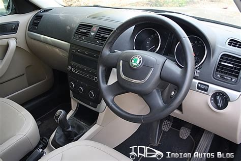 interior review skoda yeti 4x2