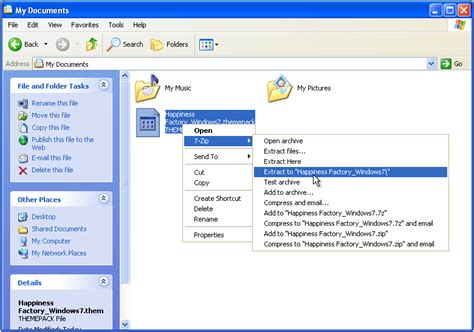 windows 7 themes extract pictures harmesh kumar official blog how to use window 7 themes in