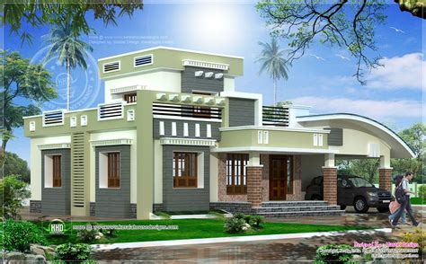 single floor 2 bedroom house in 1628 sq kerala home