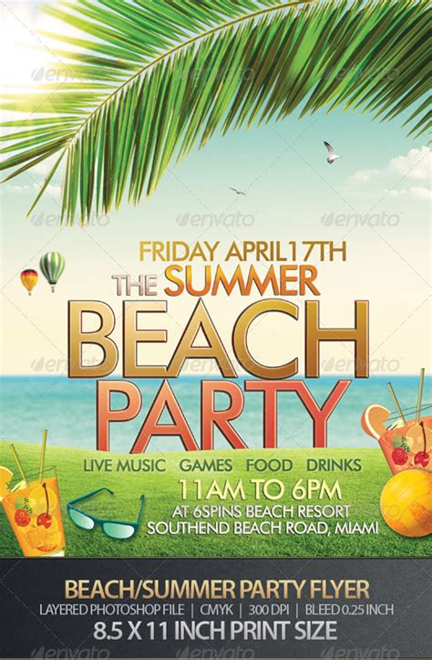 summer event flyer template 160 free and premium psd flyer design templates print ready icanbecreative