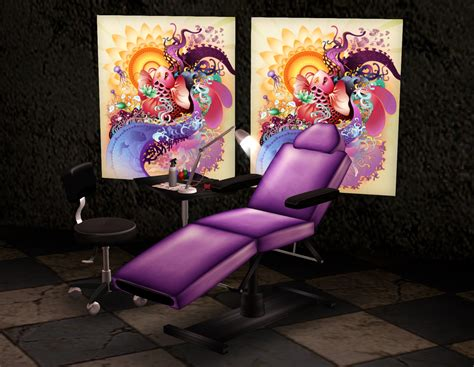 candy shop tattoo circa eye artist shop set in purple