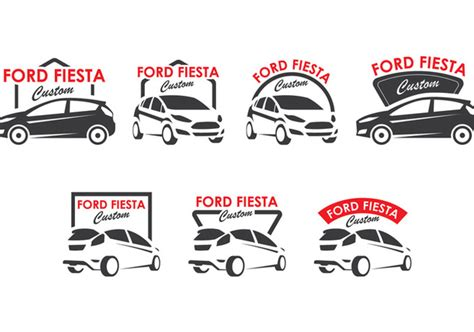 logo ford fiesta ford fiesta logo collection free vector download 403103