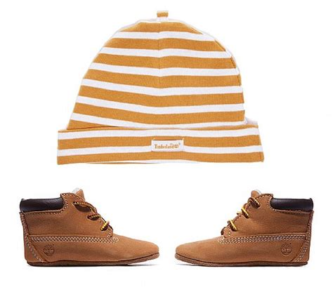 Timberland Crib Bootie Wheat by Timberland Crib Bootie And Hat Set Wheat Footasylum