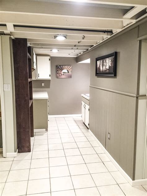 $1000 DIY Basement Renovation ? First Thyme Mom
