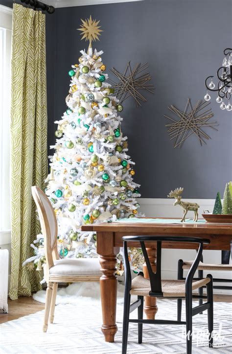 photo of the most beautifully decorated christmas tree 8 beautifully decorated white trees
