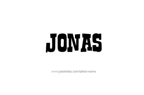 jonas name