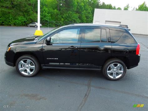 jeep compass limited black black 2012 jeep compass limited exterior photo 77919594