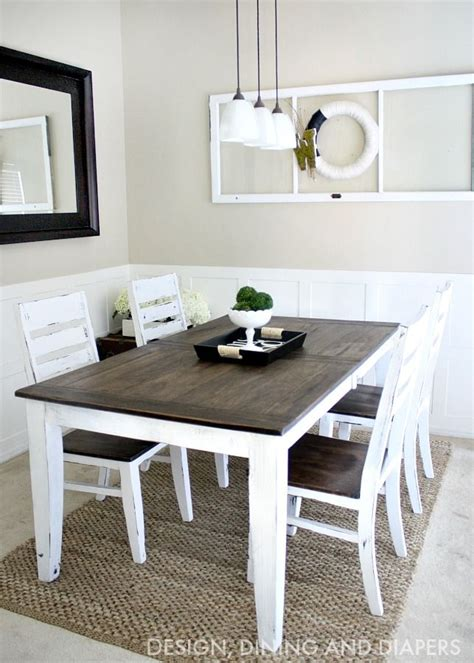 Small Farmhouse Kitchen Table by 14 Gorgeous Rustic Makeovers And Decor Ideas Diy Dining