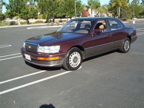 auto air conditioning repair 1990 lexus ls auto manual lexus ls400 sedan classic lexus ls 1990 for sale