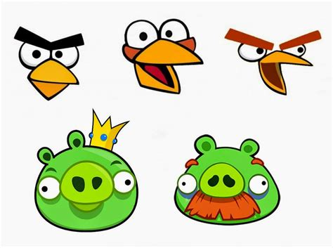 angry bird pig template esselle crafts angry birds