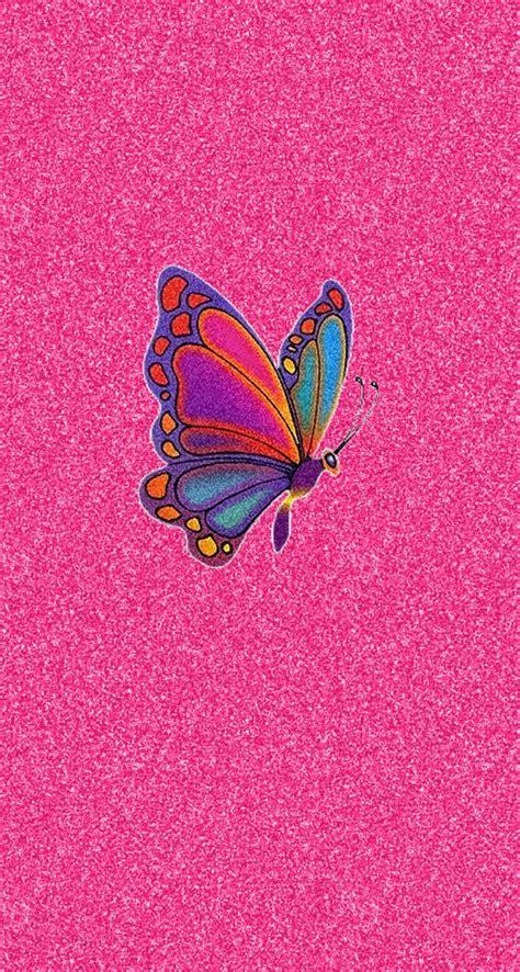 Wallpapers Of Glitter Butterflies | pink glitter butterfly wallpaper