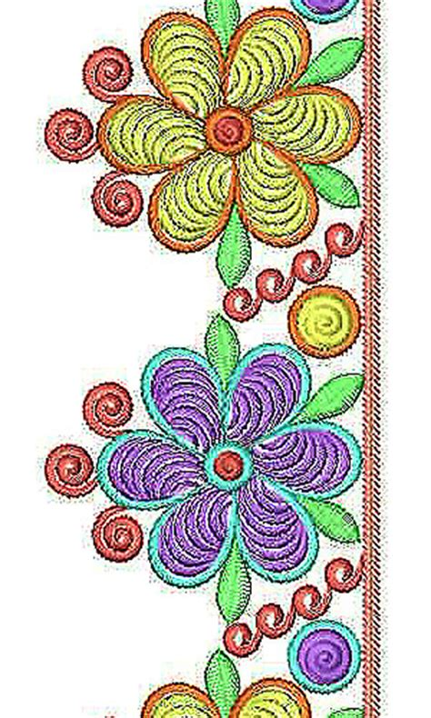 embroidery design for saree border traditional saree lace border brocade embroidery design