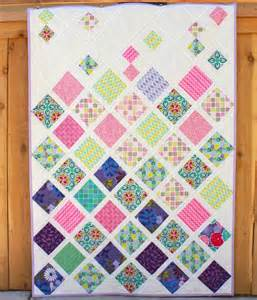 cascading baby quilt by jain craftsy